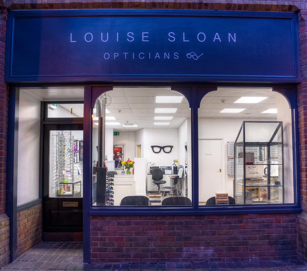 Louise Sloan Opticians, Horsham, West Sussex