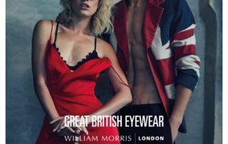 William Morris open day at Louise Sloan Opticians Horsham