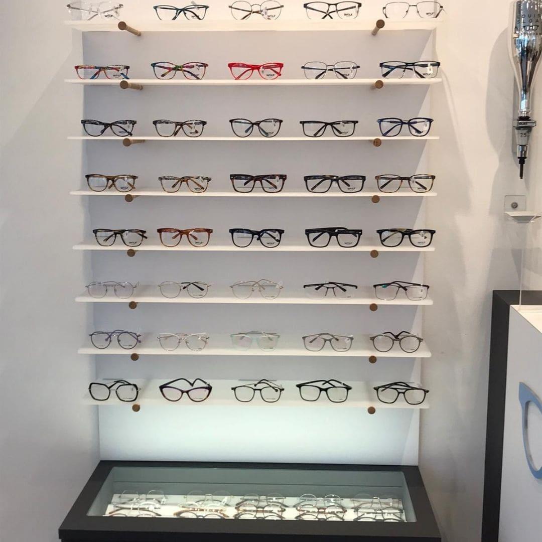 New glasses display