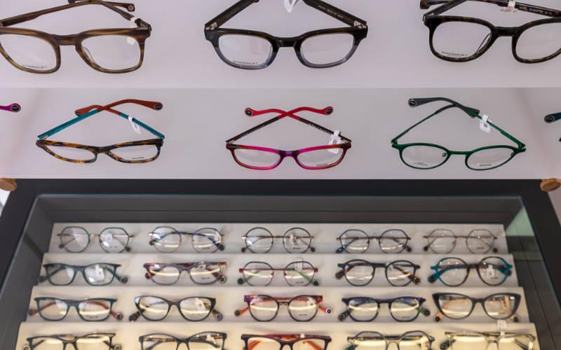 Eyewear at Louise Sloan Opticians